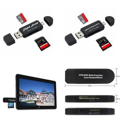 MEMORY CARD READER Sd Micro Sd And Micro Usb Otg To Usb 2 0