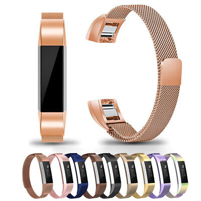 For Fitbit Ace Kids Activity Tracker!Boy Girl's SS Steel Milanese Band Strap HOT