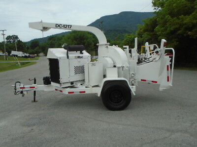 2008 Altec Dc 1217 Wood Chipper Forestry Arborist