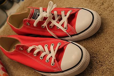 ad75fa2e3ce3 Converse All Star Chuck Taylor Low Top Raspberry Pink Shoes Men Size 8 (W 10