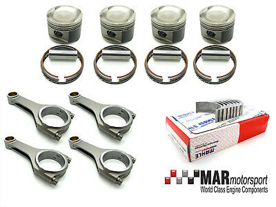 COSWORTH YB 0 5MM 4 FORGED pistons, Steel Rods, ARP, MAHLE Motorsport big  ends