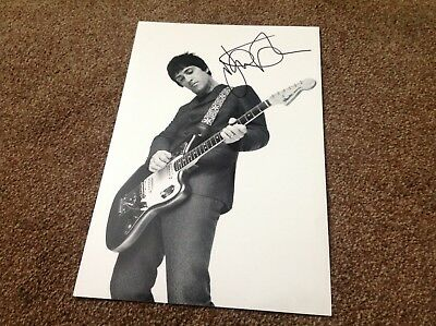 Johnny Marr Hand Signed 12 X 8 Photo The Smiths Guitar Icon Riffs Coa 2