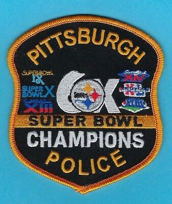 Pittsburgh Steelers Pittsburgh Police Department Novelty Shoulder Patch ~ L@@k