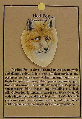 Hat Pin Lapel Pins Red Fox Free Shipping