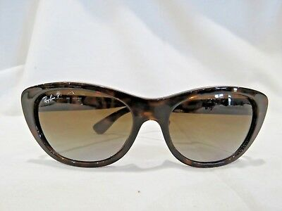 4dec578629 RAY BAN POLARIZED RB 4227 710 T5 55 17 3P Tortoise MADE IN ITALY ...