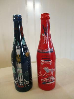 2 Original 1960s NSDA Convention Bottles 1967 Houston Tx 1968 Detroit Michigan
