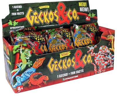 DeAgostini Geckos & Co 1x Display BOX mit 20x Booster NEU NEW
