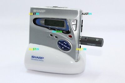 Sharp Md Mt888 Minidisc Player  Md With Microphone