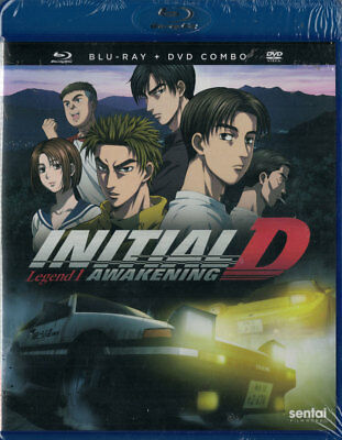 Initial D Legend 1: Awakening Blu-ray New