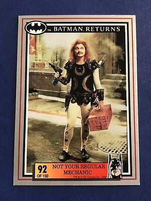 1992 Batman Returns Dynamic DC Comics Card #92