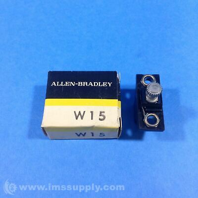 Allen Bradley W15 Heater Element for Thermal Overload Relay FNFP