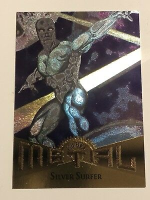 1995 Fleer Marvel Metal Card #18 Silver Surfer