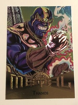 1995 Fleer Marvel Metal Card #19 Thanos