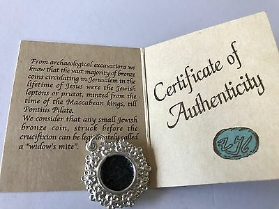 Authentic Widow's Mite Coin Pendant