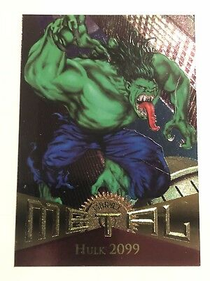 1995 Fleer Marvel Metal Card #47 Hulk 2099