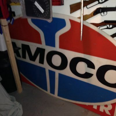 Large Amoco Plastic Sign