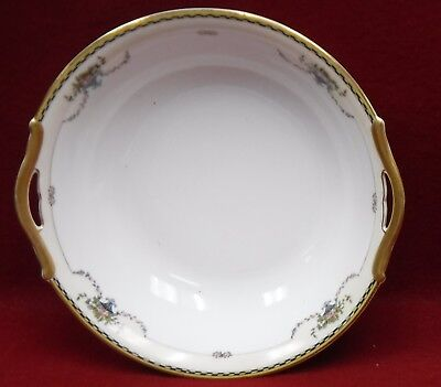 NORITAKE china ROSEMARY 71629 pattern Round Vegetable Serving Bowl - 9-7/8""