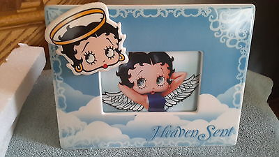 BETTY BOOP..Heaven Sent..picture frame...4×6..NIB...2007...see details
