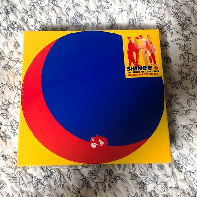 15 SHINee 6th Album The Story of Light EP 2 I Want You Group Type-A