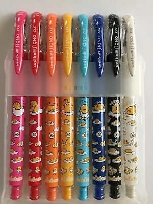 Uni-Ball Signo DX 0.38mm&0.7mm Pen ~~~8-color set---special Sanrio edition