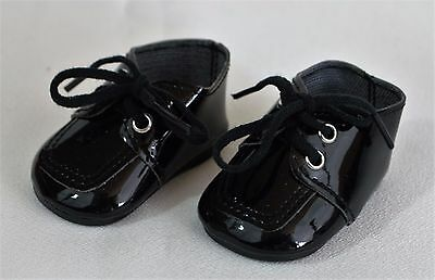 """Bitty Baby Twin Boy Doll Shoes Black for 15"""" To 18"""" doll Accessories Clothes"""