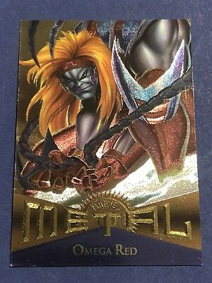 1995 Fleer Marvel Metal Card #101 Omega Red