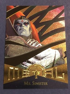 1995 Fleer Marvel Metal Card #106 Mr. Sinister