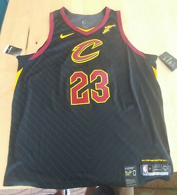 pick up c4b98 75f28 LEBRON JAMES AUTHENTIC Cavaliers Jersey with tags Men's XXL (56)