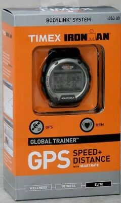 Brand New Timex Ironman Global Trainer GPS HRM Watch Timex T5K444