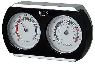 BIOS Indoor Thermometer and Hygrometer. Free Shipping