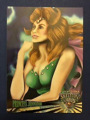 Fleer Ultra 1995 Skeleton Warriors Card #2 Princess Jennifer