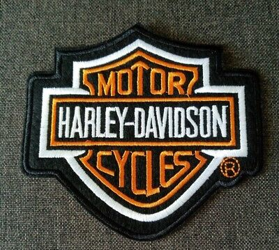 Brand New Stock Harley Davidson Iron On Patches