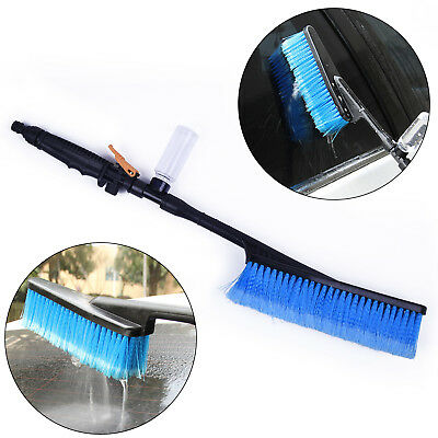 Car Soft Wash Brush Hose Adapter Cleaning Tool Water Cleaner Car Care Useful Hot