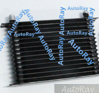 Universal Mocal style 30 Row Engine Transmission 10-AN AN10 Oil Cooler black