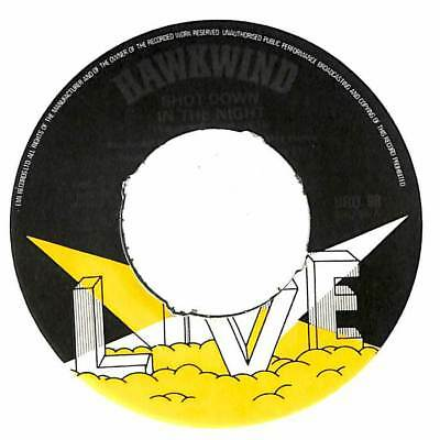 "Hawkwind - Live - Shot Down In The Night - 7"" Record Single"