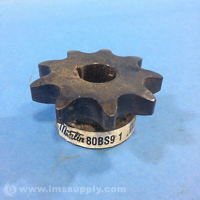 Martin Sprocket & Gear Inc 80Bs9 1 Finished Bore Sprocket Usip