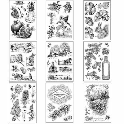 Cactus Clear Rubber Stamp Silicone Scrapbooking DIY Paper Crafts Stationery New