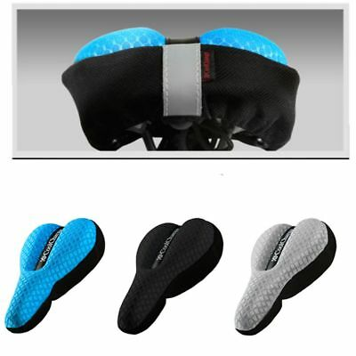 Cycling Bike Bicycle 3D Saddle Seat Cover Sponge Cushion Soft Comfort Pad Case