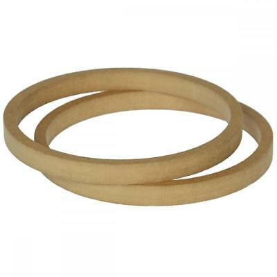 """8"""" 200mm Pair of MDF Speaker Spacer Mounting Rings 18mm Thick ID 182mm ED 202mm"""