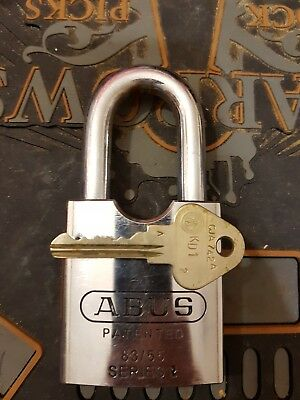 Abus Rock 83/55, Restricted JA MLA profile.Not a lockwood.Locksports