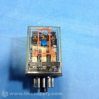 NEW Omron MK3PND-5-S-DC24 General Purpose Relay 10A 24V