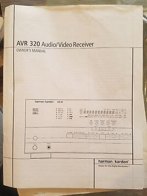 Harman kardon avr 320 manual.