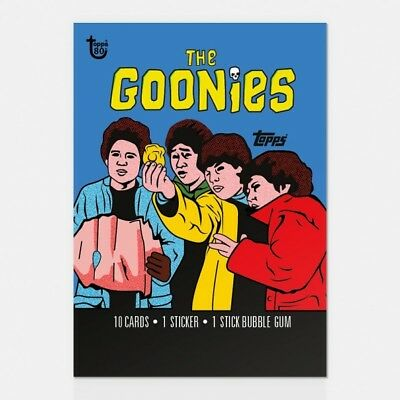 2018 Topps 80Th Anniversary Wrapper Art Card #52 - 1985 Goonies