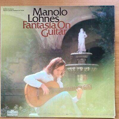 manolo lohnes-fantasia on guitar lp vinyl