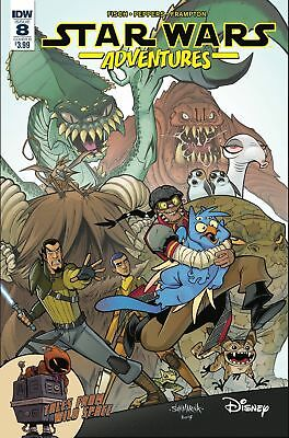 STAR WARS ADVENTURES #8 COVER B SOMMARIVA IDW 1st print
