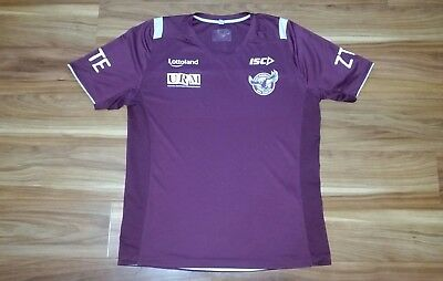 Manly Sea Eagles NRL Training Shirt Mens Large