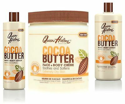Queen Helene Cocoa Butter Face + Body LOTION/ CREAM CREME For Extremely Dry Skin