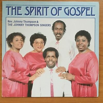 LP - The Spirit of Gospel - Johnny Thompson Singers (152102)