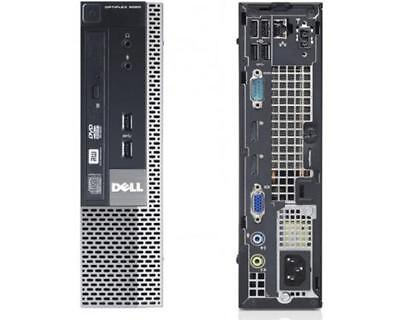 Dell Optiplex 9020 USFF i5 4570S QUAD 2.9GHz 8GB RAM 128GB SSD DVDRW Win 7 PRO