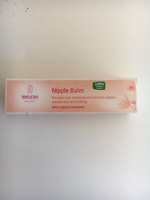 WELEDA NIPPLE BALM BRAND NEW IN BOX 25g